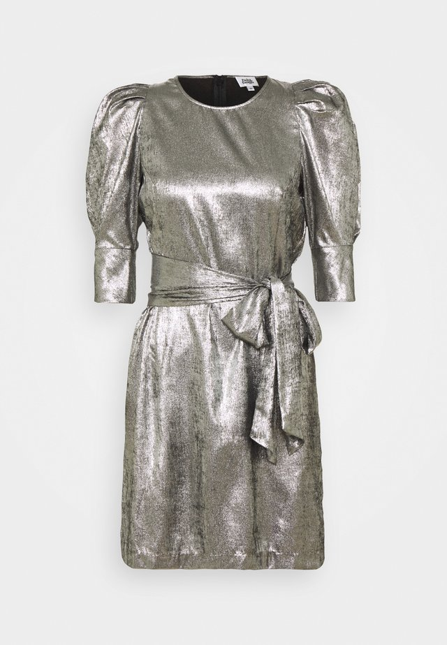 EDIE DRESS - Vestito elegante - silver metallic