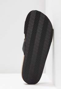 Monki - LIZA - Slippers - black - 6