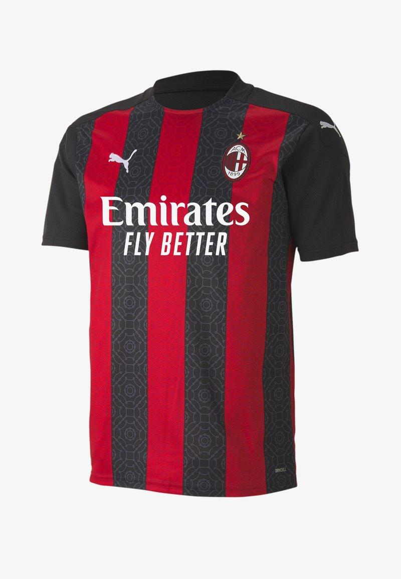 Puma - AC MILAN HOME REPLICA  - Club wear - tango red black