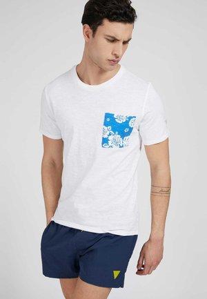 T-shirt con stampa - mehrfarbig/ weiß
