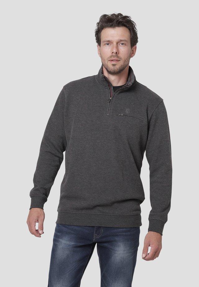 Harrison  - Sweatshirts - dk.grey mix
