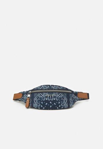 BANDANA BODY BAG UNISEX - Bum bag - midnight