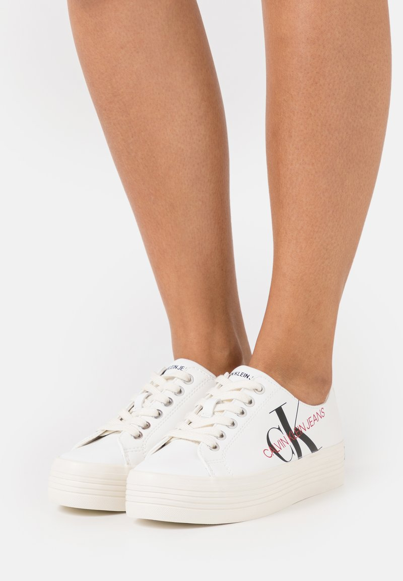 Calvin Klein Jeans - ZESLEY - Sneakers basse - bright white