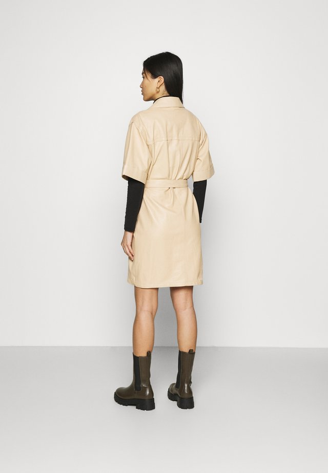 BREAK - Shirt dress - light beige