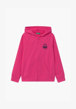 BASIC GIRL - veste en sweat zippée - pink