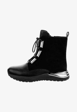 SUVERETO - Šněrovací kotníkové boty - black