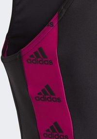 adidas Performance - GIRLS TAPERED SWIMSUIT - Swimsuit - black - 7