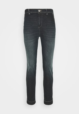 TROUSERS - Džíny Slim Fit - mid blue