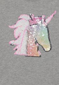 GAP - GIRL FLIPPY - Print T-shirt - light heather grey - 2