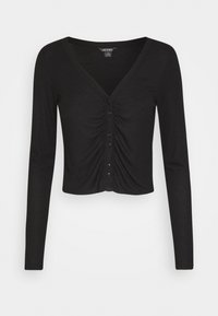 Monki - OVERA - Cardigan - black dark - 3