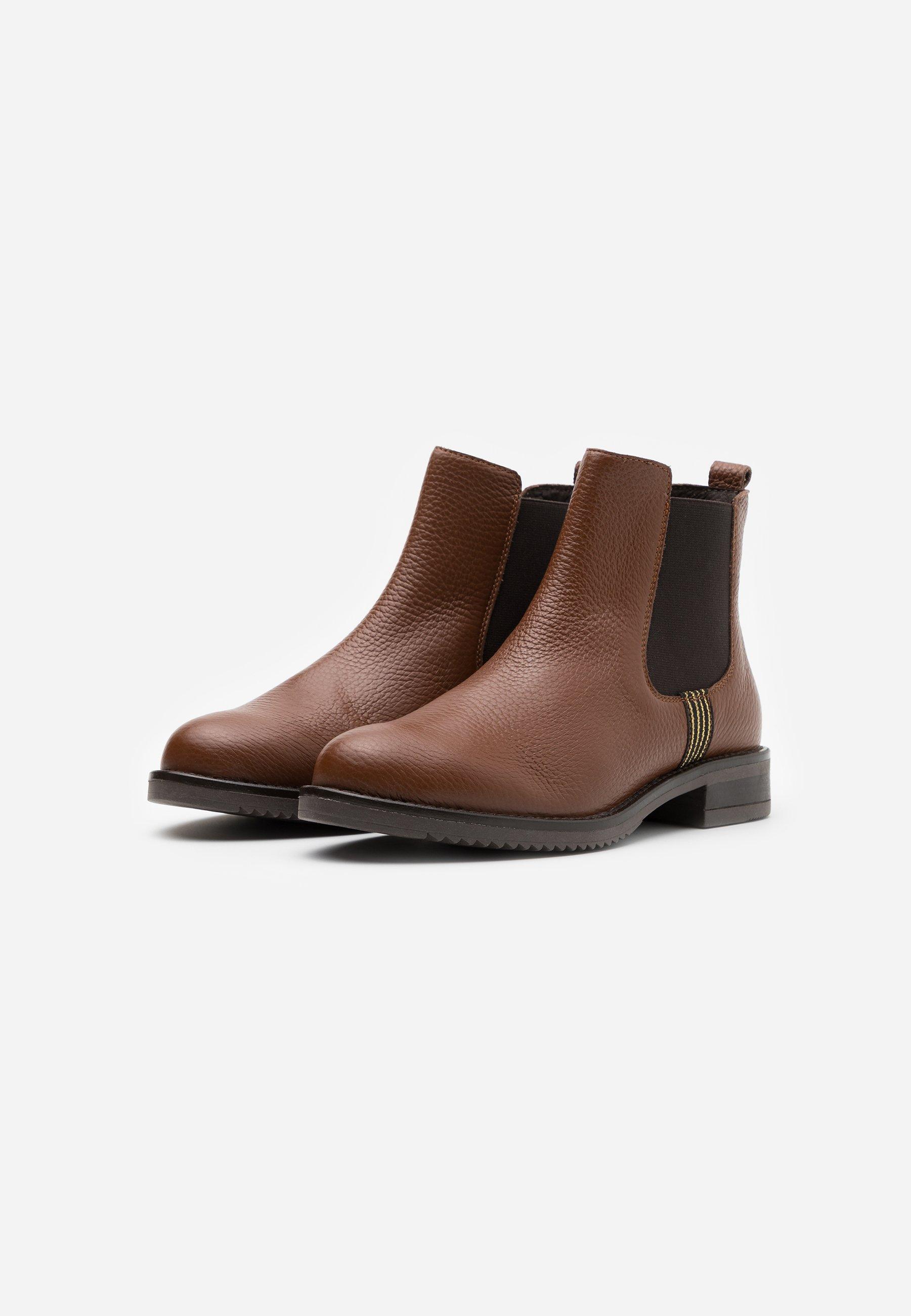 Anna Field LEATHER CONAN Ankle Boot cognac/cognac