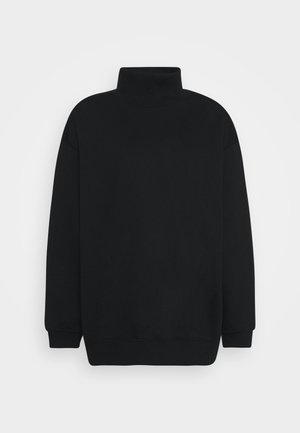 BRUSHED  - Sweatjacke - black