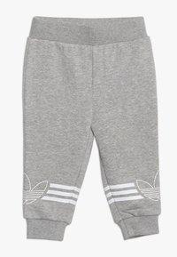 adidas Originals - OUTLINE CREW - Verryttelypuku - grey/white - 2
