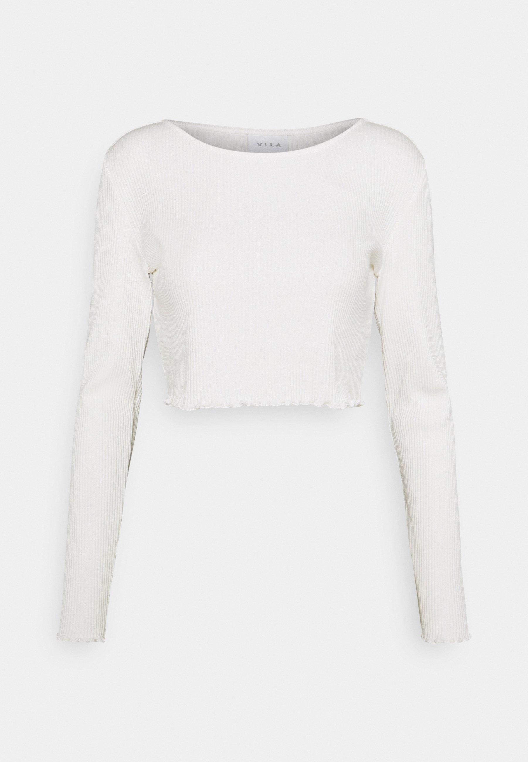 Women VIBALU CROPPED - Long sleeved top