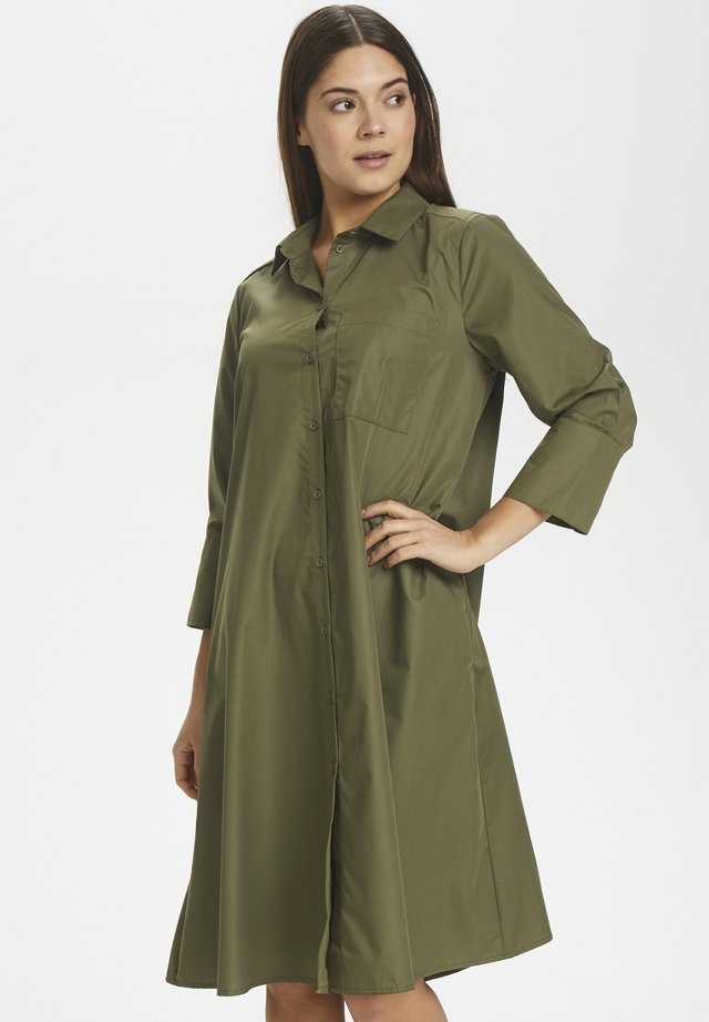 KALOLLY - Shirt dress - grape leaf