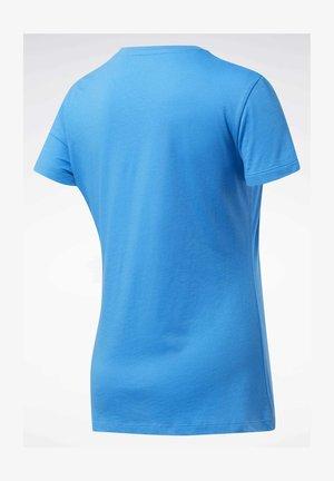 TRAINING ESSENTIALS GRAPHIC T-SHIRT - Camiseta estampada - blue