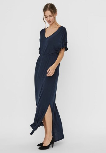 VMDONNA - Maxi dress - navy blazer