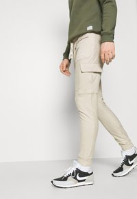 The Couture Club - LOOPBACK JOGGER - Tracksuit bottoms - stone - 3