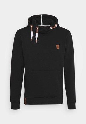 NEVILLY - Jersey con capucha - black