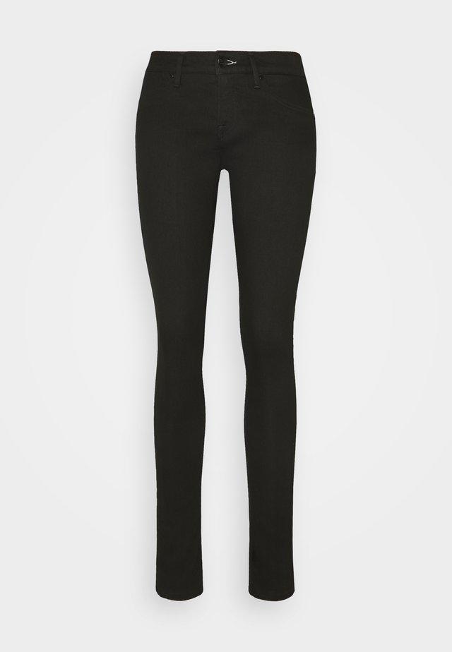 SPRAY - Skinny džíny - black
