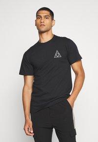 HUF - JUNGLE CAT TEE - Print T-shirt - black - 2