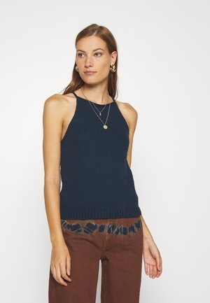 CASTOFF HALTER TANK - Top - preppy navy