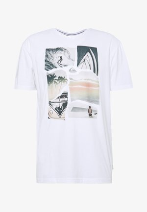 TORN APART - Print T-shirt - white
