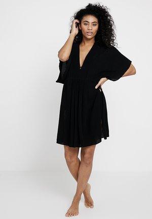 TUNIC DRESS - Doplňky na pláž - black
