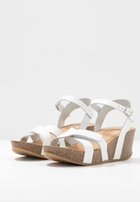 Ca'Shott - Sandály na platformě - bianco - 4