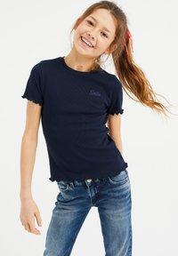 WE Fashion - 3 PACK - Print T-shirt - blue - 1