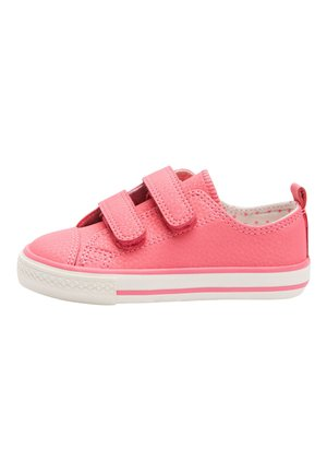 HOT PINK TOUCH FASTENING TRAINERS (YOUNGER) - Tenisky - pink