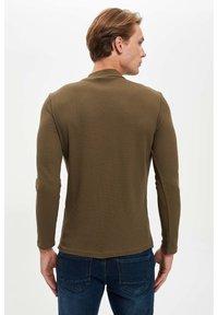 DeFacto - T-shirt à manches longues - khaki - 4