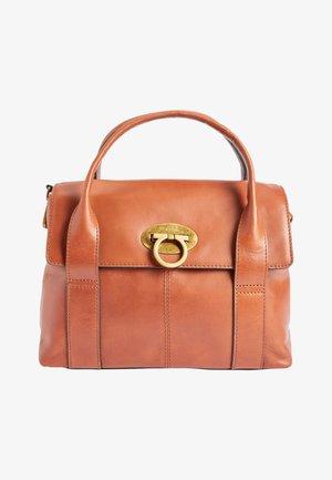 SMALL LOCK - Handbag - brown