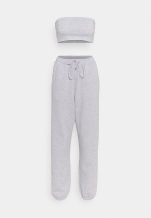 BANDEAU AND JOGGER SET - Tracksuit - grey