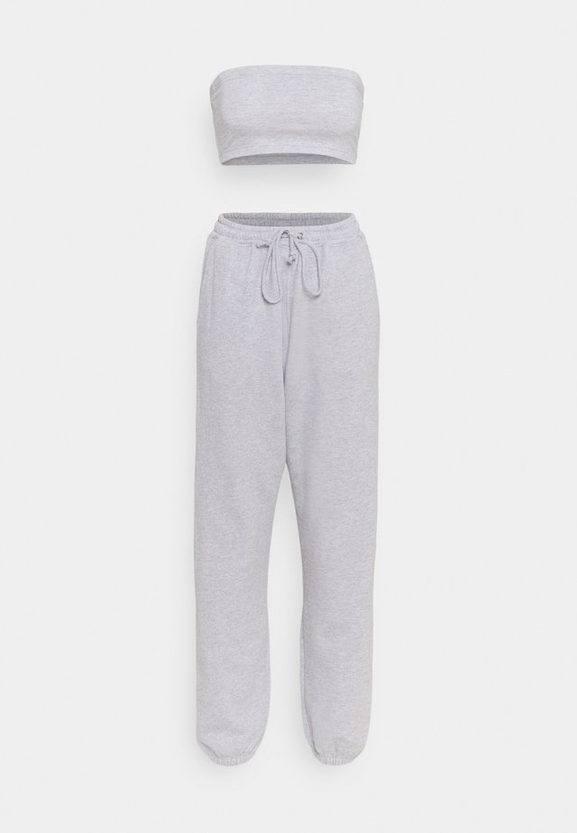 BANDEAU AND JOGGER SET - Træningssæt - grey