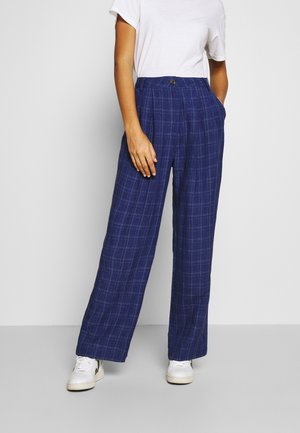 SIRID TROUSERS - Trousers - blue