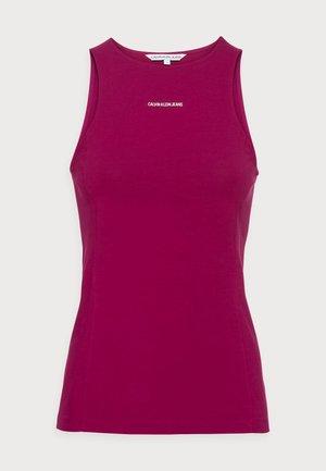 MICRO BRANDINGTANK - Top - purple