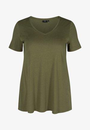 Basic T-shirt - green