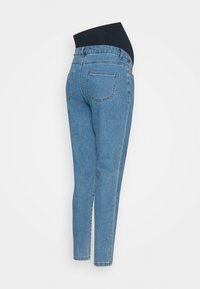 Missguided Maternity - MATERNITY HIGHWAISTED COMFORT STRETCH - Relaxed fit jeans - blue - 1