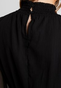 Pieces - PCAMALIE DRESS - Sukienka letnia - black - 5