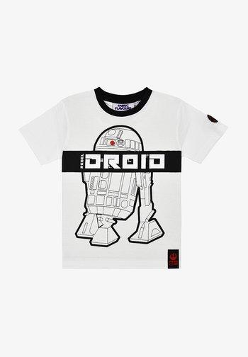 STAR WARS REBEL DROID TEE - Print T-shirt - white