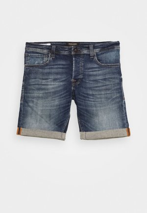 JJIRICK JJORG - Shorts vaqueros - blue denim