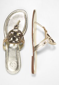 Tory Burch - MILLER - T-bar sandals - spark gold - 3