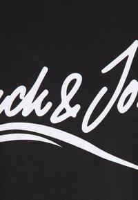 Jack & Jones - JORFLEXER 2 PACK - Print T-shirt - black/navy blazer - 4