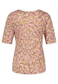 Gerry Weber - MIT FLOWERPRINT - Print T-shirt - lila/pink/grün druck - 4