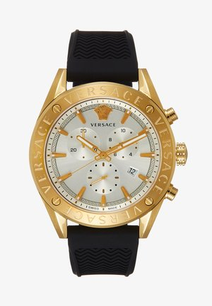 Zegarek chronograficzny - black/gold-coloured