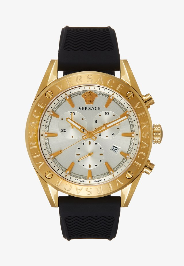 Chronograph - black/gold-coloured
