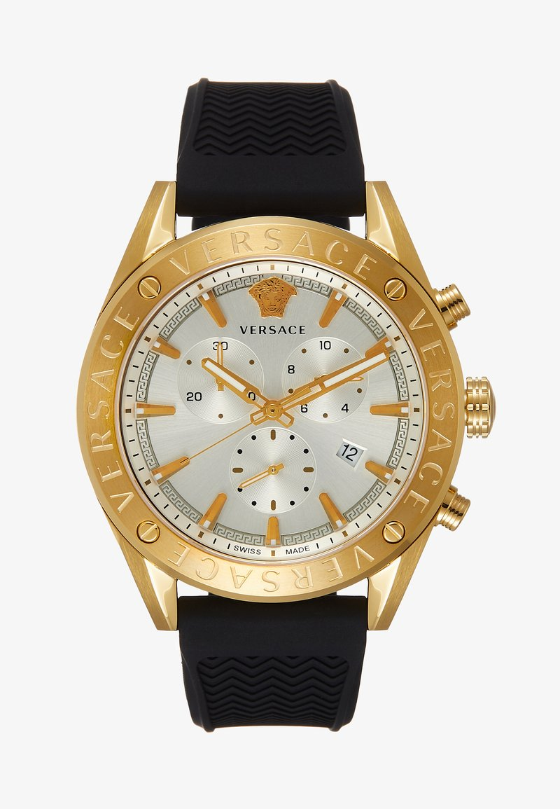 Versace Watches - Chronograph watch - black/gold-coloured