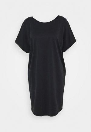 KATTIE - Vestito di maglina - black