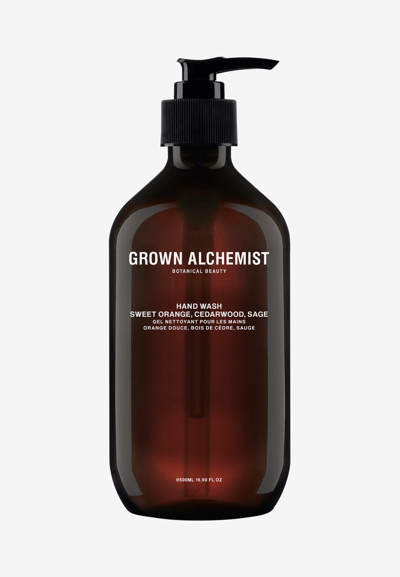 Grown Alchemist - HAND WASH SWEET ORANGE, CEDARWOOD & SAGE - Liquid soap - -